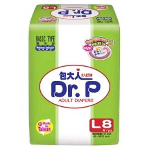 Tã dán người lớn DrP size L - 8 mieng