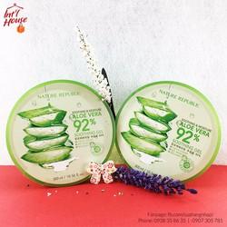 Gel dưỡng lô hội Nature Republic Aloe Vera 92 - 300ml