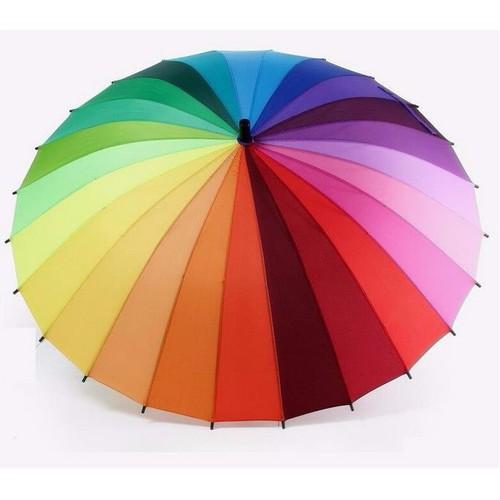 Ô dù 24 nan cỡ đại quang phổ màu