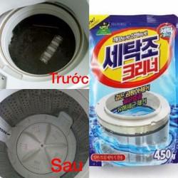3 gói tẩy lồng máy giặt Hàn Quốc {FREE SHIP}