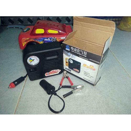 Bơm điện đa năng 12V dùng cho xe máy và xe con