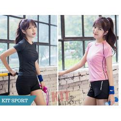 Bộ quần áo tập gym nữ Floral - Đồ tập gym nữ-Đồ quần áo thể thao,yoga