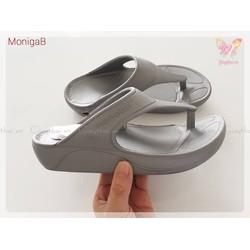 MonigaB - DÉP QUAI KẸP KIỂU DÁNG MỚI LẠ CHO NỮ - Xám