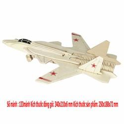 Đồ chơi lắp ráp 3D mô hình máy bay tiêm kích Su 47