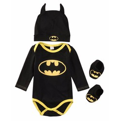 Bộ quần áo body hóa trang Batman sơ sinh