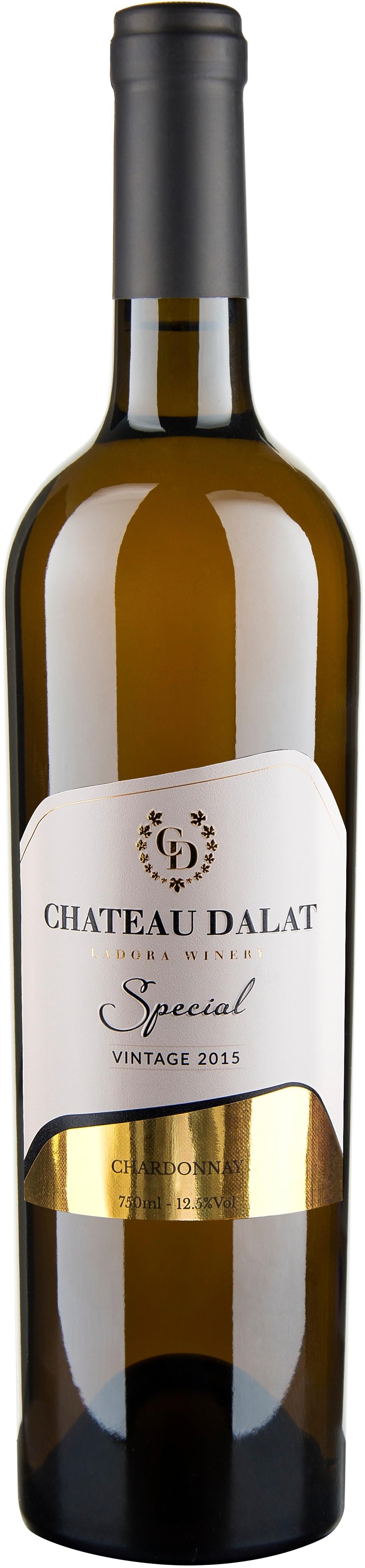 Kết quả hình ảnh cho vang chateau dalat special chardonnay