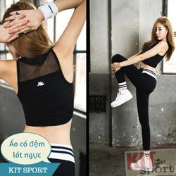 Áo tập gym nữ Kimberly-Đồ quần áo thể thao,yoga-Áo tập thể thao nữ