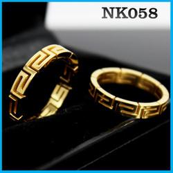 Nhẫn kiểu cao cấp độc đáo NK058 - BH vĩnh viễn ko đen