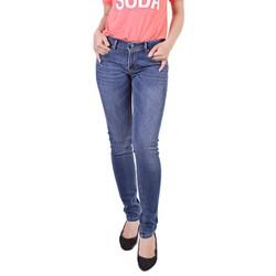 Quần jeans nữ CQ836 xuất khẩu xanh size 27