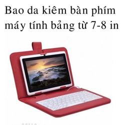 Bao da bàn phím máy tính bảng 7 inch - 8 inch