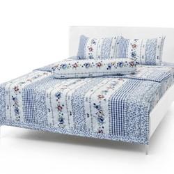 Bộ Drap Cotton Thắng Lợi  18m x 2m  kèm mền chần gòn mẫu 2