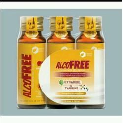 Thực phẩm chức năng mát gan giải bia Alcofree