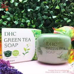 Xà phòng trà xanh DHC Green Tea Soap 80g