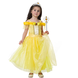 Đầm công chúa Belle người đẹp và quái vật