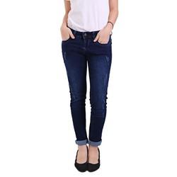 Quần jeans nữ Mango CQ819 xuất khẩu xanh size 27