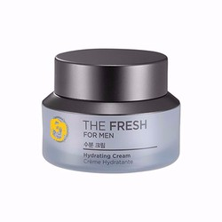 Kem dưỡng da nam The Fresh For Man Hydrating Cream The,Face shop