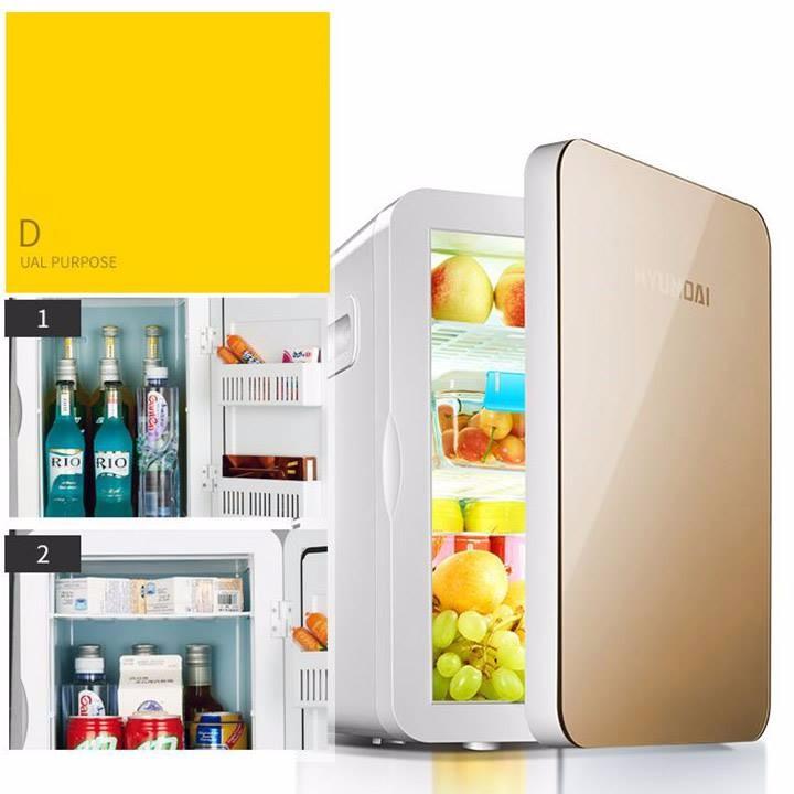 Tủ lạnh 2 chiều Huyndai 20L