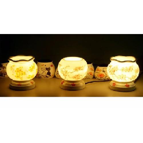 Đèn xông tinh dầu gốm T09 nhỏ