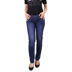 Quần jeans nữ Lee CQ818 xuất khẩu xanh size 27