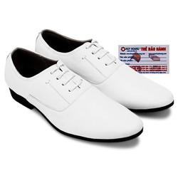 Giày thời trang Huy Hoàng có dây màu trắng