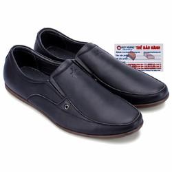 Giày nam Huy Hoàng da bò màu đen