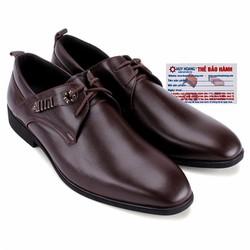 Giày nam thời trang huy hoàng màu nâu