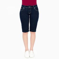 Quần jeans lửng xuất khẩu VQ001 - xanh - size 26