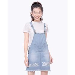Váy Yếm Jean Thời Trang