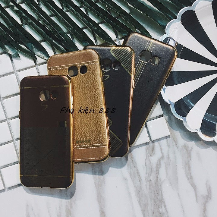 Ốp lưng Samsung Galaxy A3 2017 giả da 1
