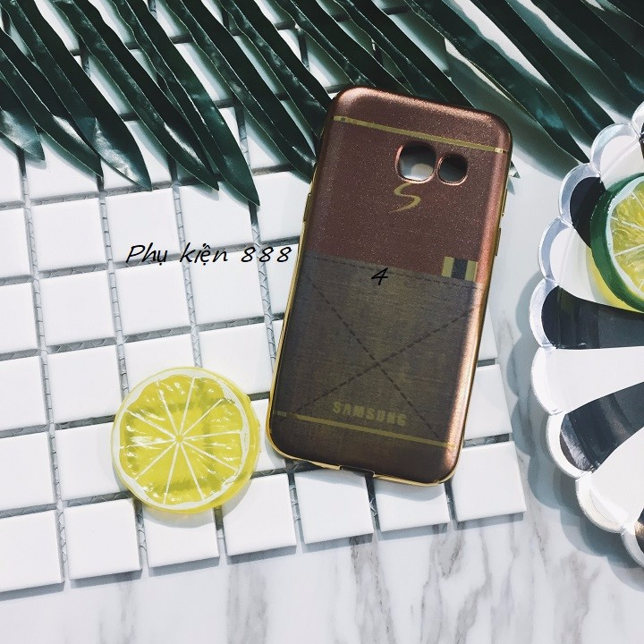 Ốp lưng Samsung Galaxy A3 2017 giả da 3
