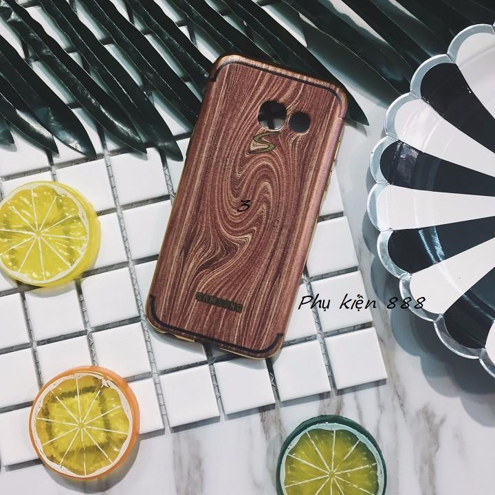 Ốp lưng Samsung Galaxy A3 2017 vân gỗ 1