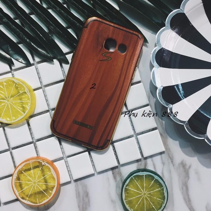 Ốp lưng Samsung Galaxy A3 2017 vân gỗ 2