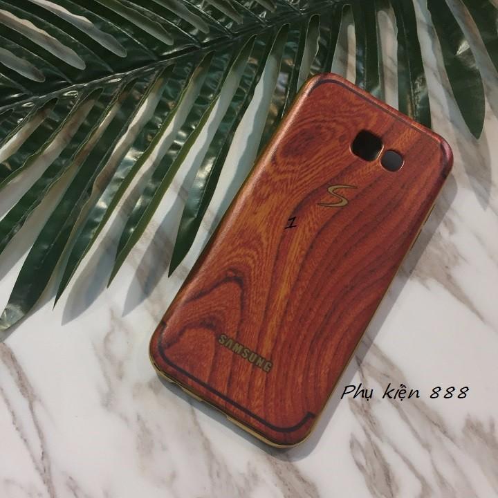 Ốp lưng Samsung Galaxy A7 2017 vân gỗ 4
