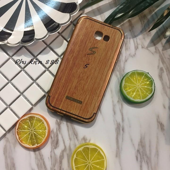Ốp lưng Samsung Galaxy A7 2017 vân gỗ 1