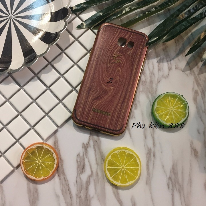 Ốp lưng Samsung Galaxy A7 2017 vân gỗ 2