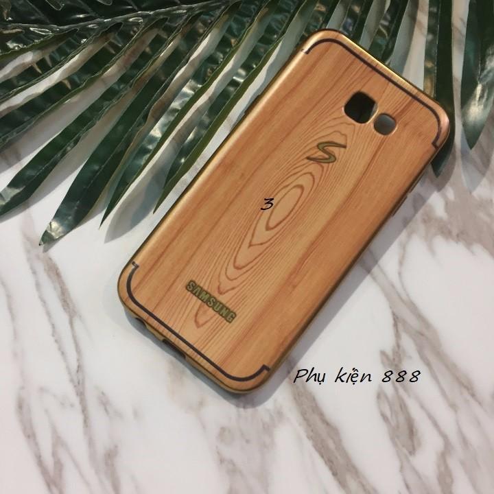 Ốp lưng Samsung Galaxy A7 2017 vân gỗ 5