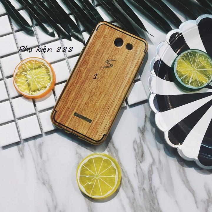 Ốp lưng Samsung Galaxy J3 2016 vân gỗ 2