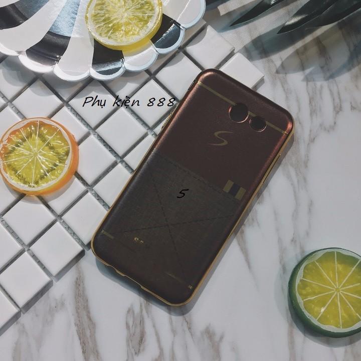Ốp lưng Samsung Galaxy J3 pro giả da 3