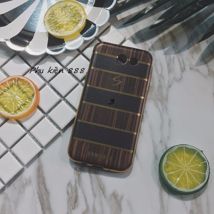 Ốp lưng Samsung Galaxy J3 pro giả da 4