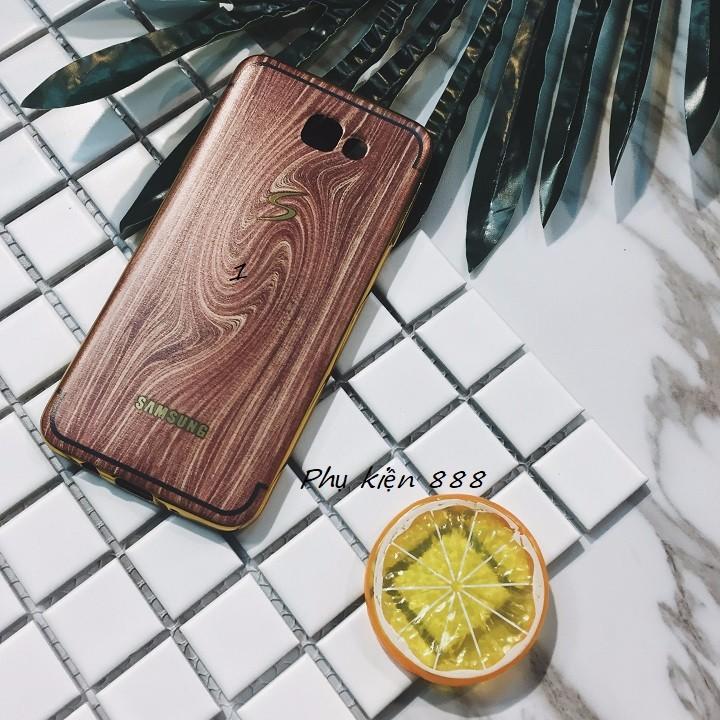 Ốp lưng Samsung Galaxy J5 2016 vân gỗ 3