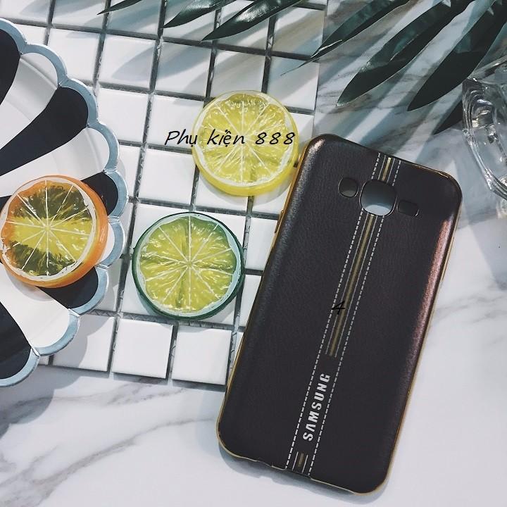 Ốp lưng Samsung Galaxy J7 giả da 3