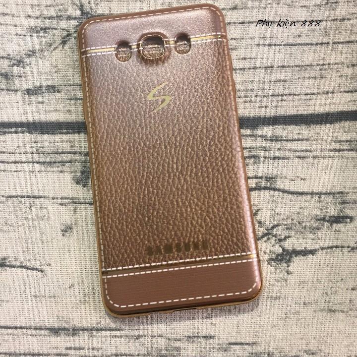 Ốp lưng Samsung Galaxy J7 - J710 2016 giả da dẻo 2