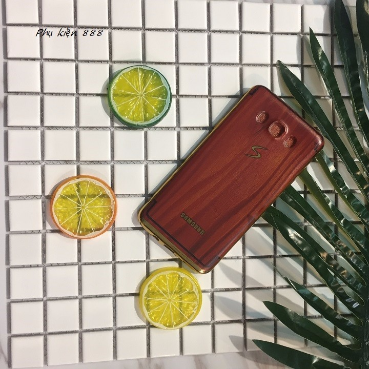 Ốp lưng Samsung Galaxy J7 - J710 2016 vân gỗ 1