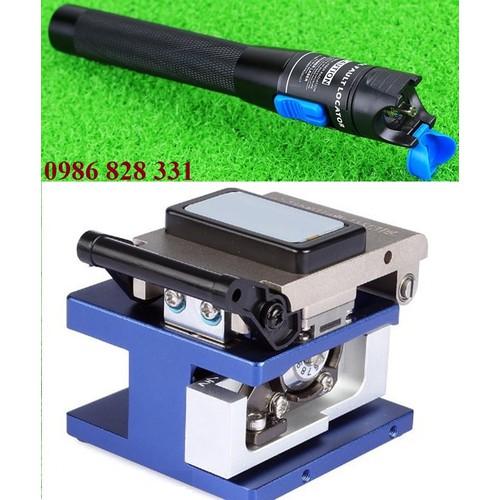 Dao cắt sợi Quang FC-6S cao cấp + tặng Bút soi sợi quang 5Km cao cấp