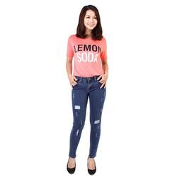 Quần jeans nữ Zara CQ825 xuất khẩu xanh size 29