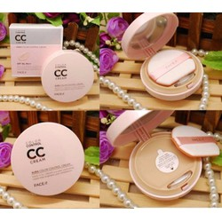 Kem nền The Face Shop Face It Aura Color Control CC Cream