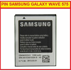 PIN SAMSUNG GALAXY WAVE 575