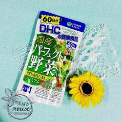 Viên uống DHC bổ sung 32 loại rau củ quả từ Nhật Bản
