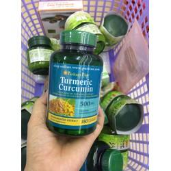 Viên uống tinh chất nghệ    Turmeric Curcumin Puritan sPride