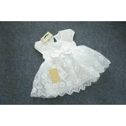 áo đầm cho bé từ sơ sinh đến 2 tuổi